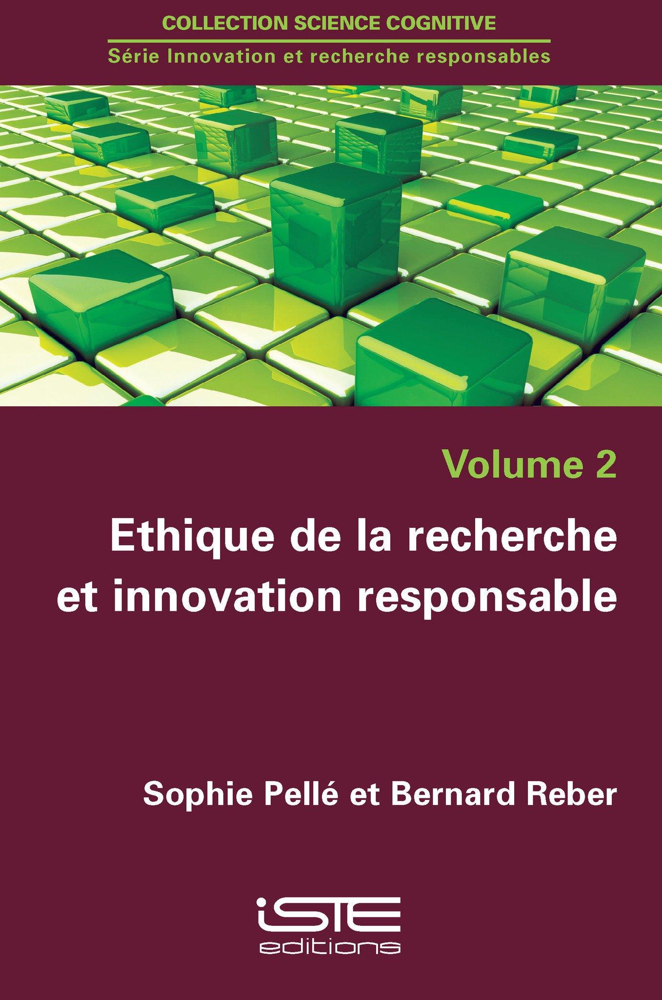 Ethique de la recherche et innovation responsable