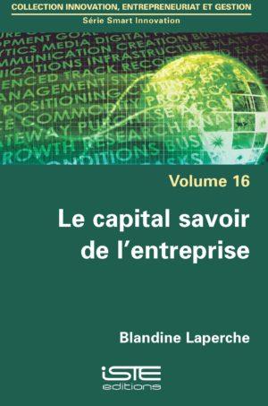 Le capital savoir de l'entreprise