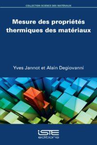 Mesure des propriétés thermiques des matériaux ISTE Group