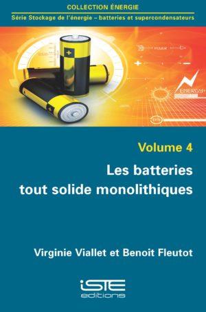 Les batteries tout solide monolithiques ISTE Group