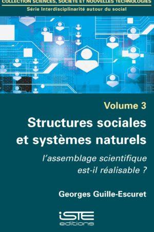 Structures sociales et systèmes naturels ISTE Group