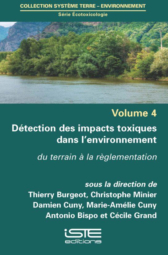 Détection des impacts toxiques dans l'environnement ISTE Group