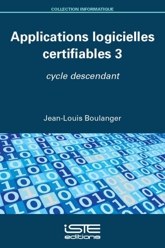 Applications logicielles certifiables 3