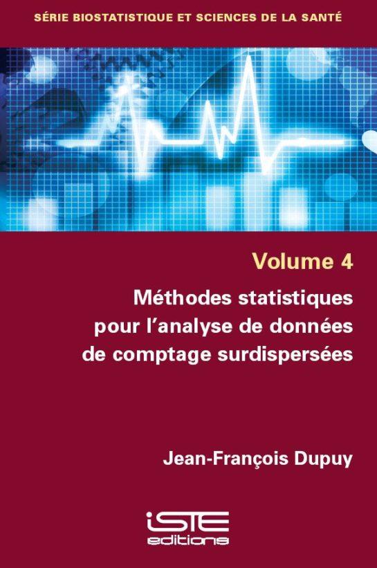 Méthodes statistiques pour l'analyse de données de comptage surdispersées