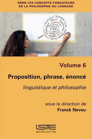 Proposition, phrase, énoncé