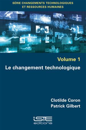 Livre Le changement technologique - Clotilde Coron et Patrick Gilbert