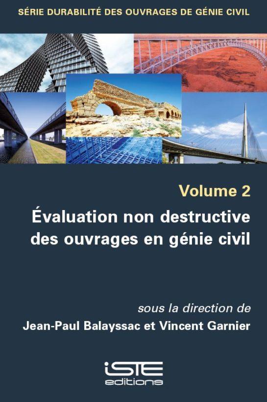 Livre Évaluation non destructive des ouvrages en génie civil ISTE Group