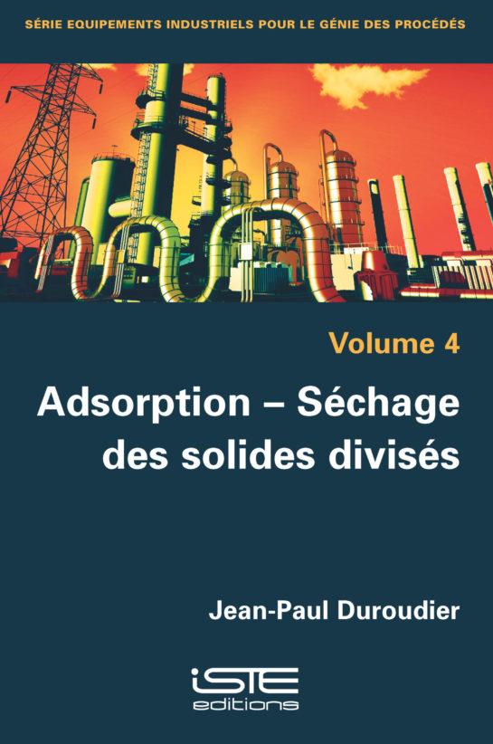 Adsorption – Séchage des solides divisés