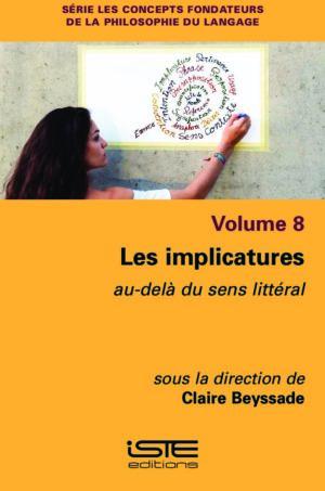 Livre scientifique - Les implicatures - Claire Beyssade