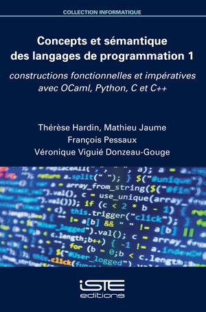 Livre scientifique - Concepts et sémantique des langages de programmation 1