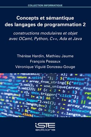Livre scientifique - Concepts et sémantique des langages de programmation 2