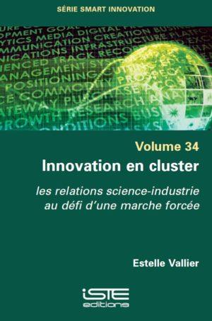 Livre scientifique - Innovation en cluster - Estelle Vallier