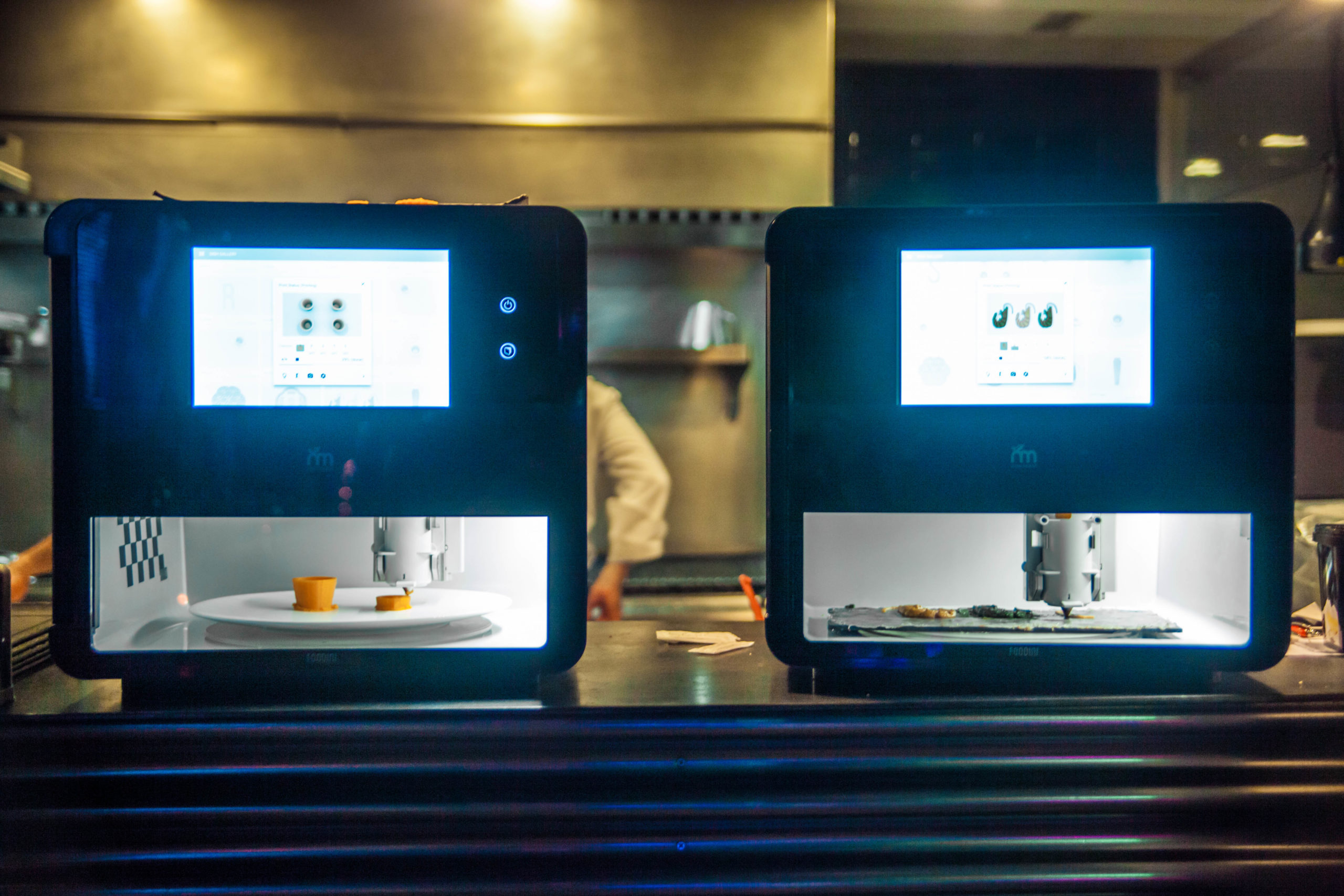Imprimante 3D aliments
