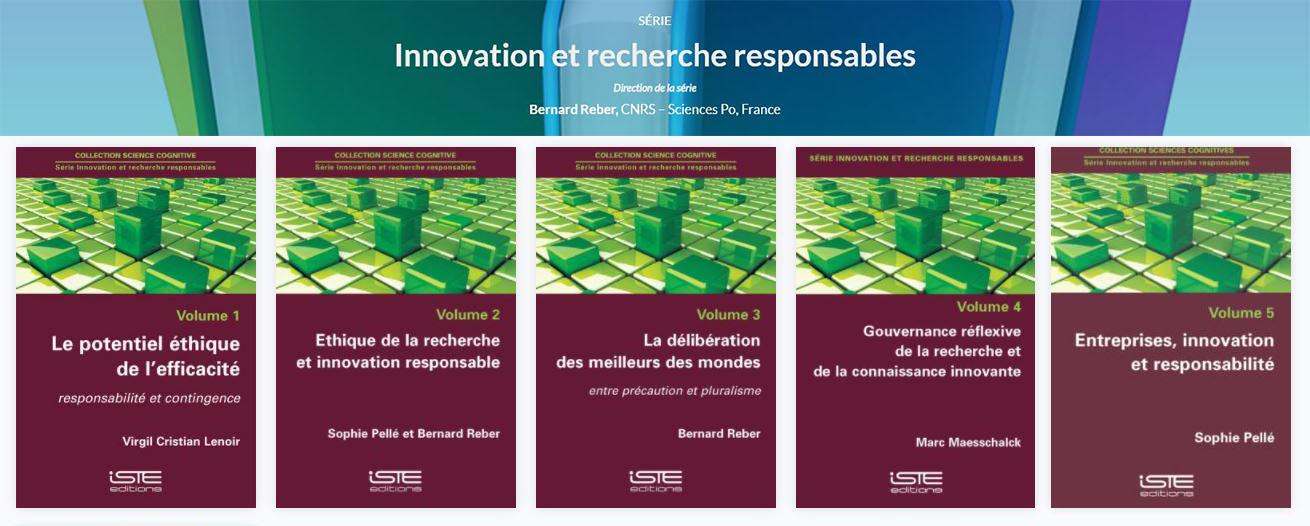 série Innovation et recherche responsables