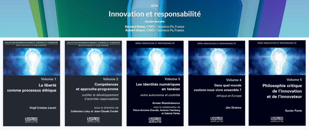 série Innovation et responsabilité